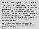 gli stati uniti in guerra il wilsonismo3