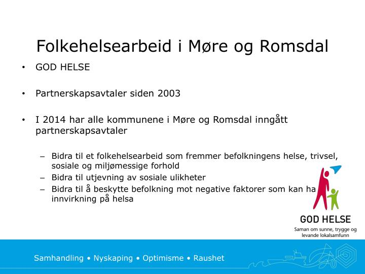 Folkehelsearbeid i Møre og Romsdal