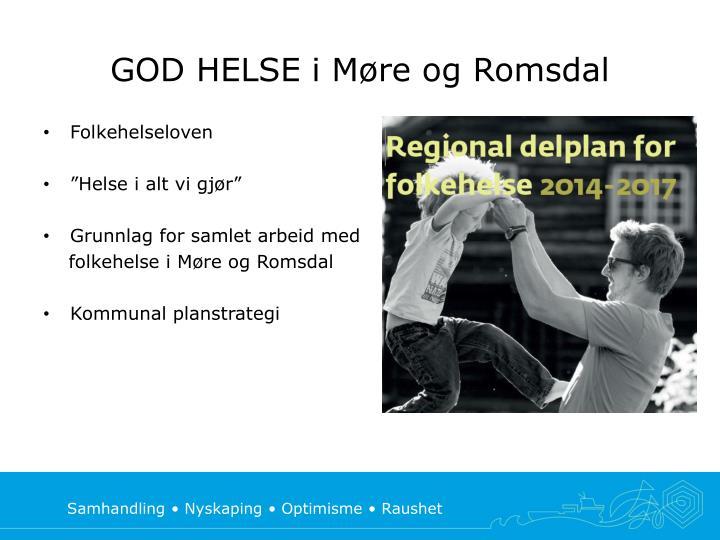 GOD HELSE i Møre og Romsdal
