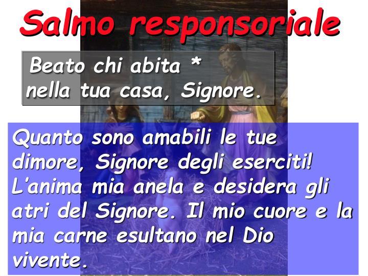 Salmo responsoriale