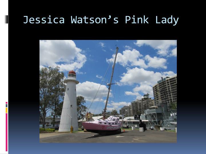 Jessica Watson's Pink Lady