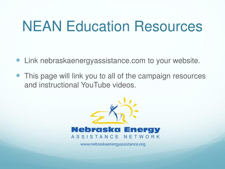 NEAN Education Resources