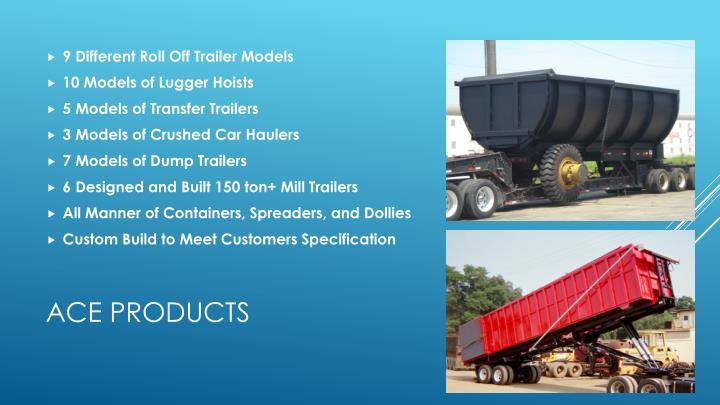 9 Different Roll Off Trailer Models