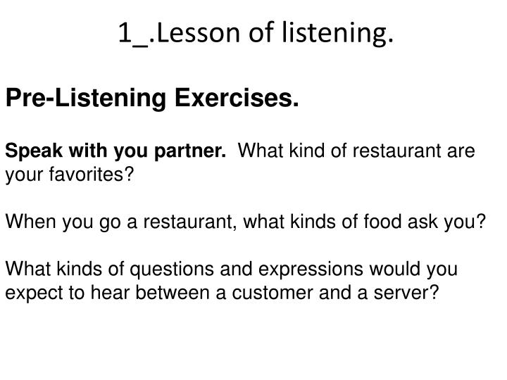1_.Lesson of