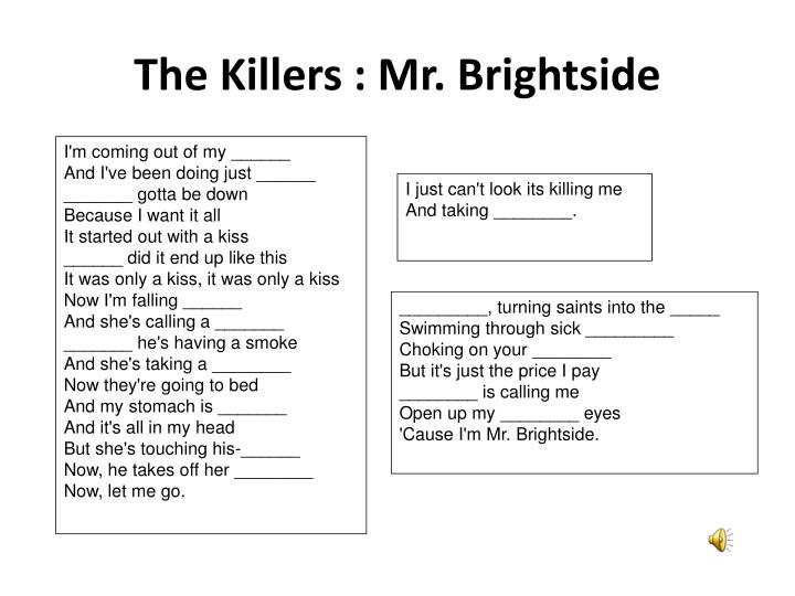 The Killers : Mr. Brightside