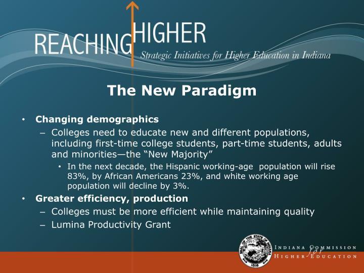 The New Paradigm