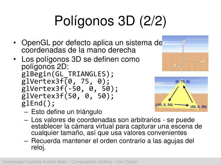 Polígonos 3D