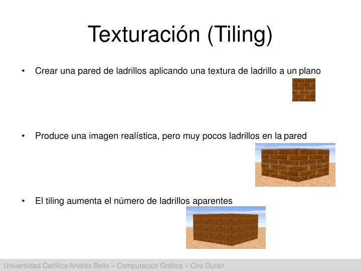 Texturación