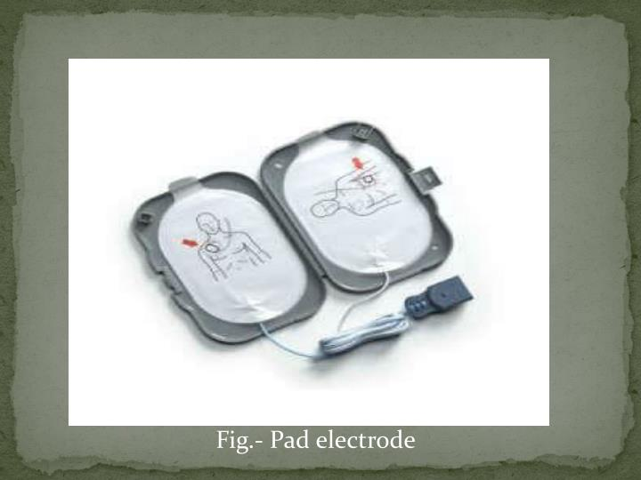 Fig.- Pad electrode