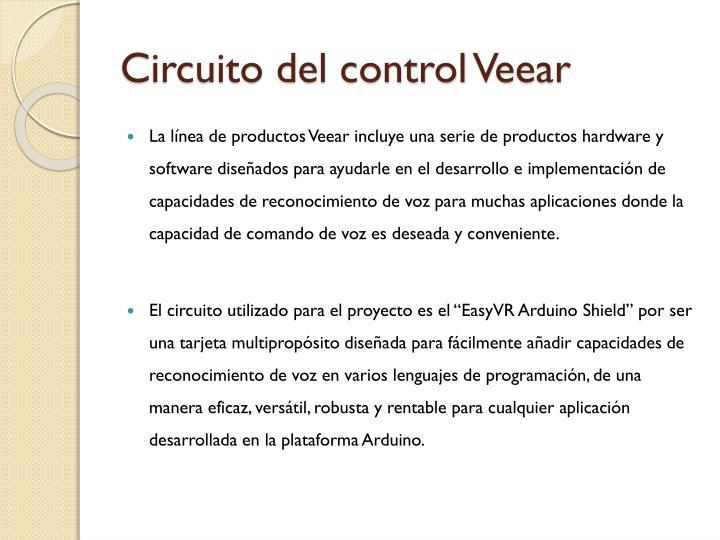 Circuito del control