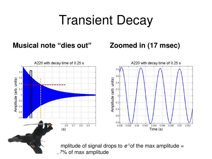 Transient Decay