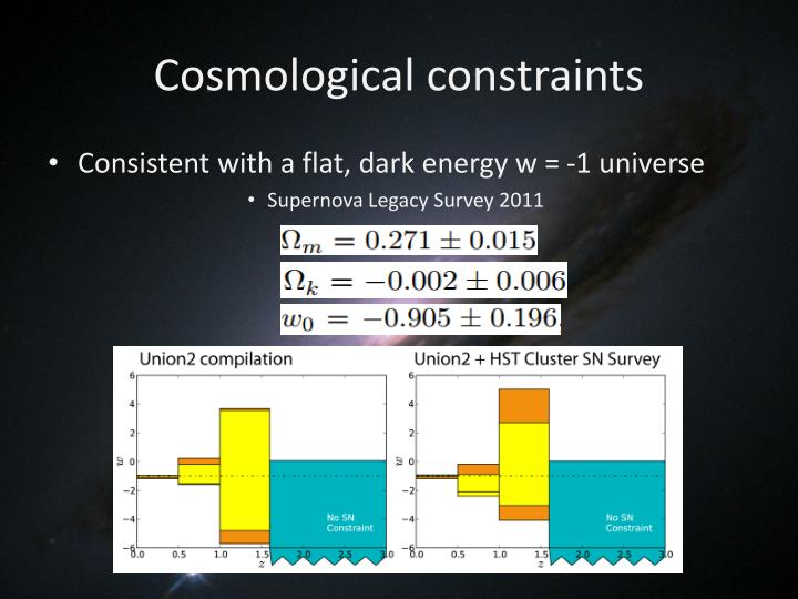 Cosmological constraints