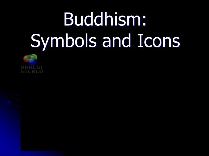 Buddhism symbols and icons