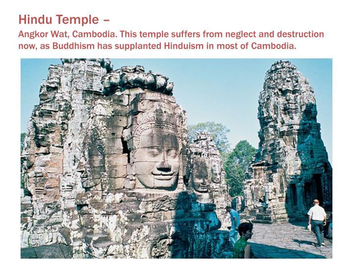 Hindu Temple –
