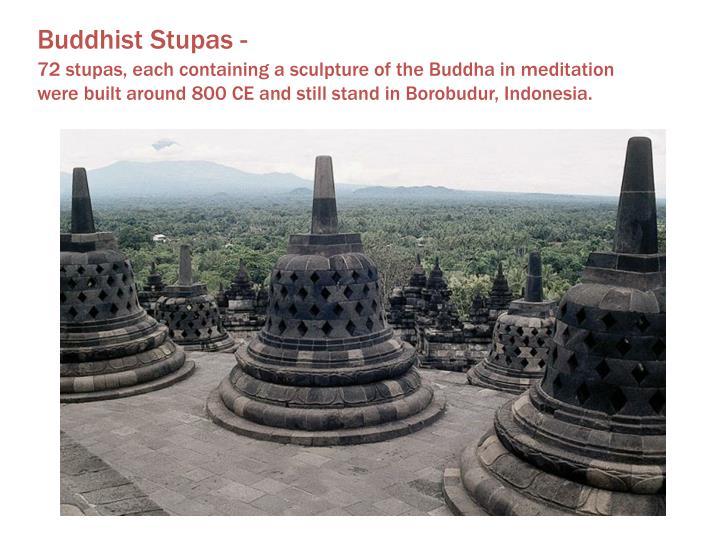 Buddhist Stupas -