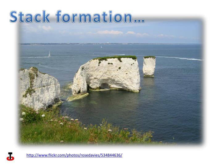 Stack formation…