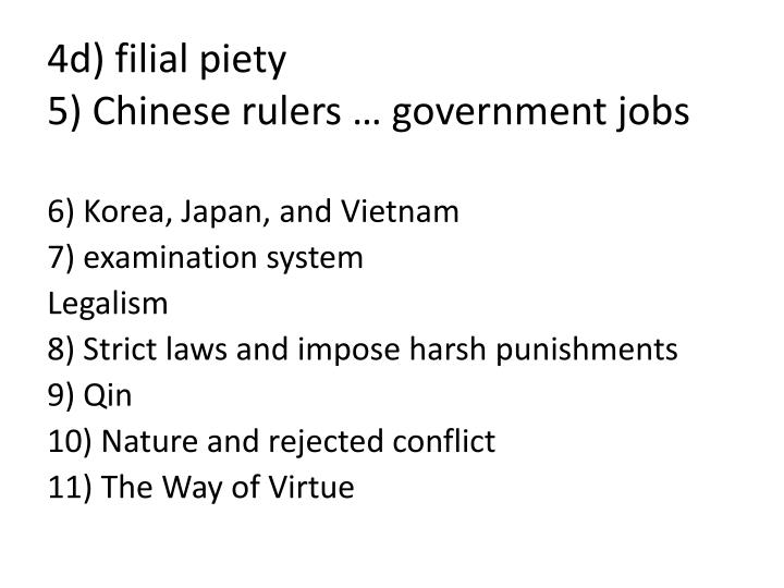 4d) filial piety