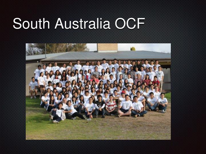 South Australia OCF