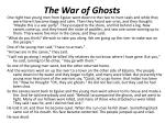 the war of ghosts