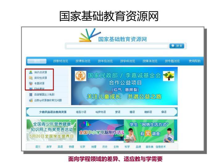 国家基础教育资源网