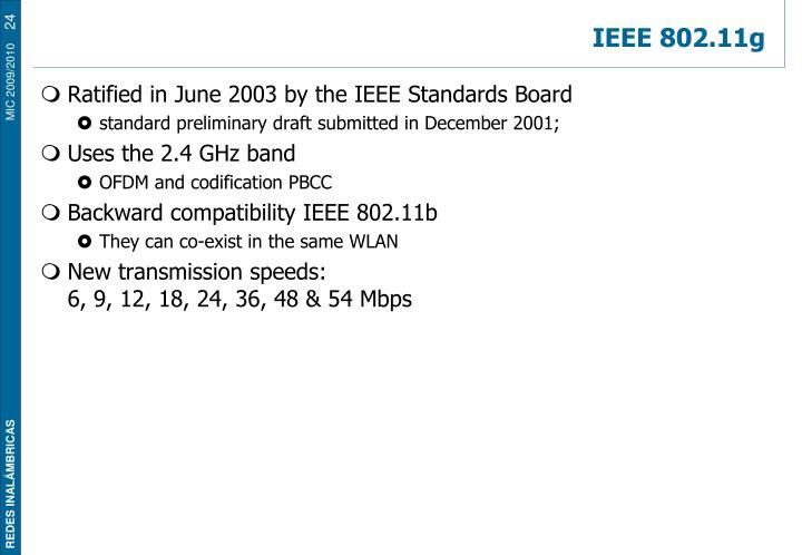 IEEE 802.11g