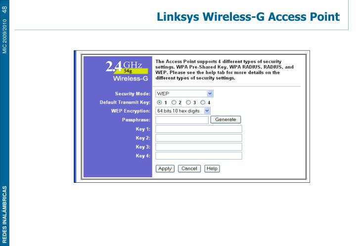 Linksys Wireless-G Access Point