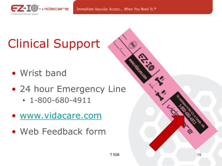 Clinical Support