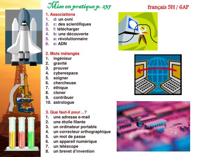 1. Associations