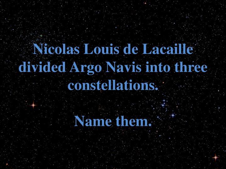 Nicolas Louis de