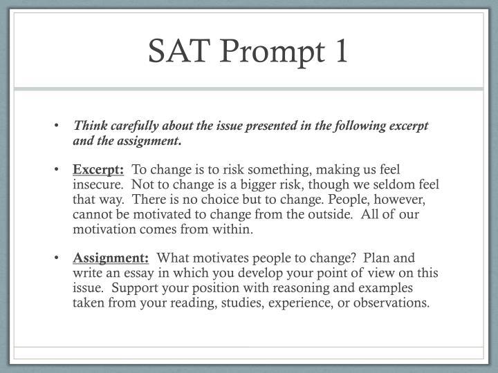SAT Prompt 1