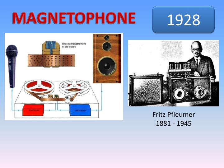 MAGNETOPHONE