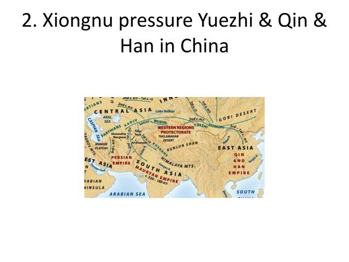 2. Xiongnu pressure