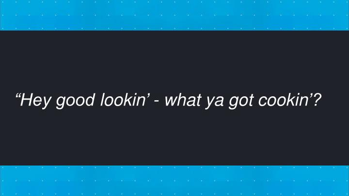 """Hey good"