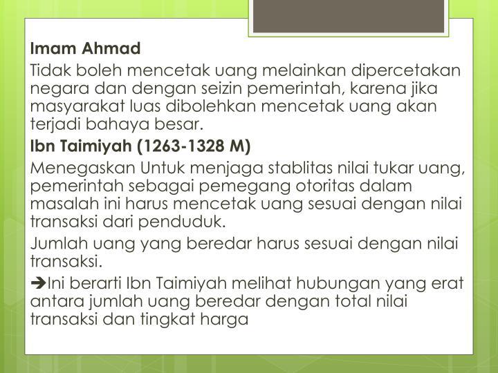 Imam Ahmad