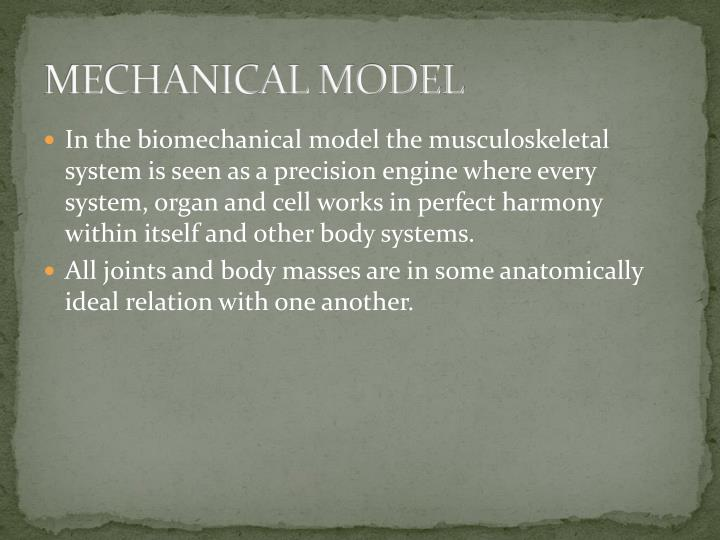 MECHANICAL MODEL