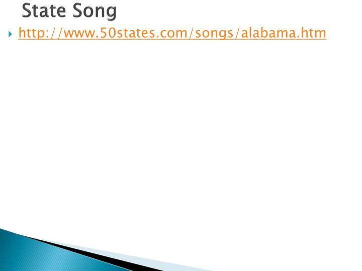 State Song