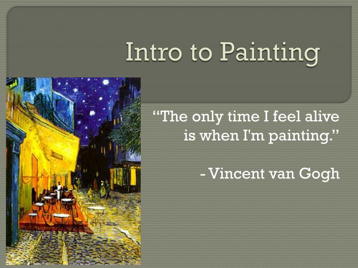 Intro to Painting