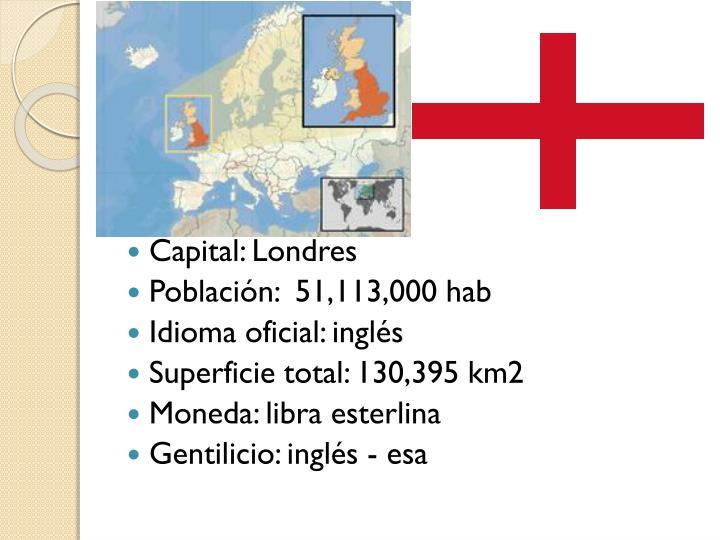Capital: Londres