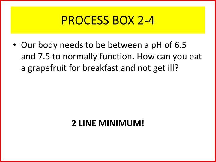 PROCESS BOX 2-4