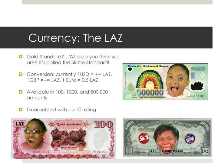 Currency: The LAZ