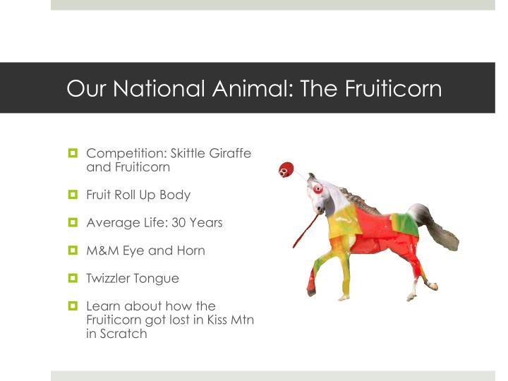 Our National Animal: The
