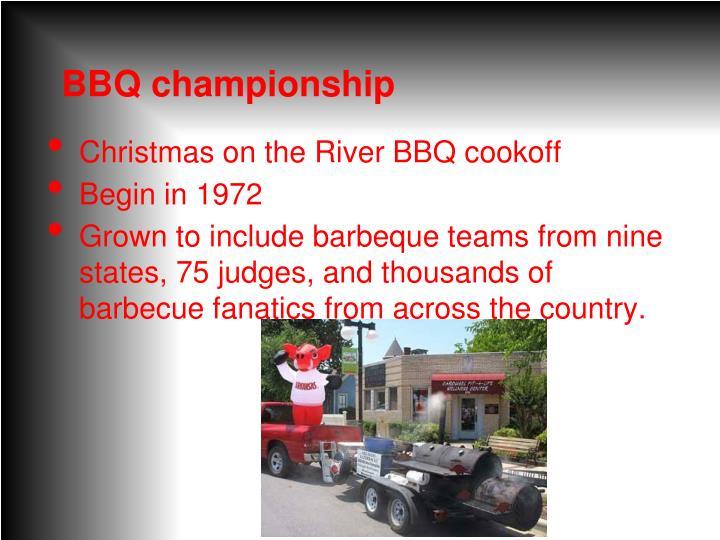 BBQ championship