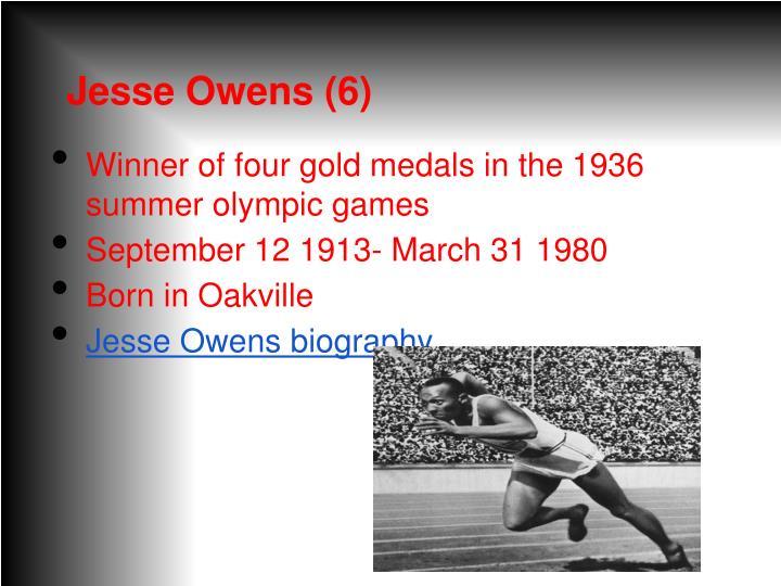 Jesse Owens (6)
