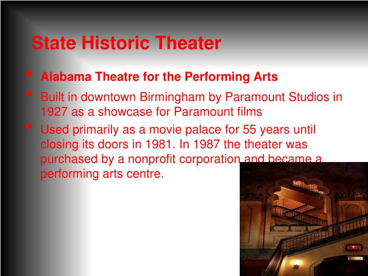 State Historic Theater