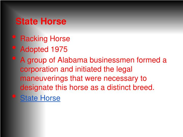 State Horse