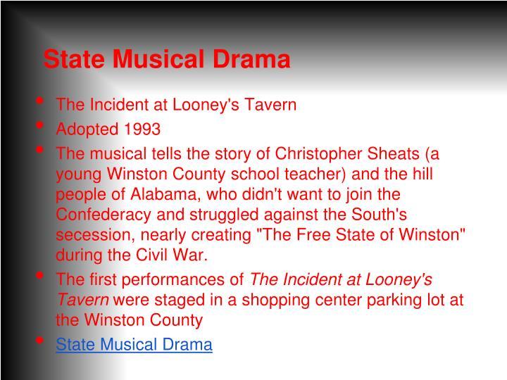State Musical Drama