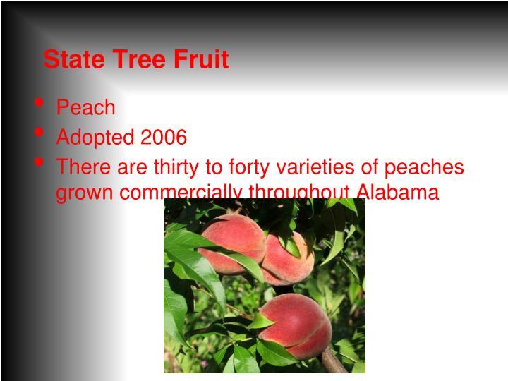 State Tree Fruit