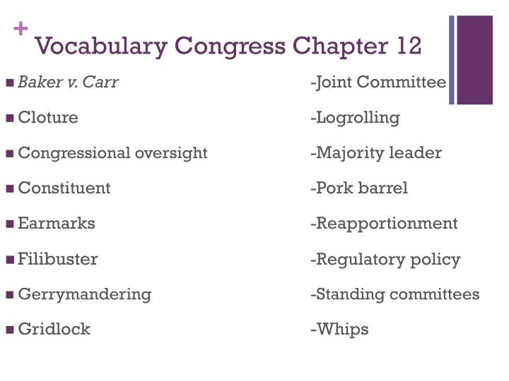 Vocabulary Congress