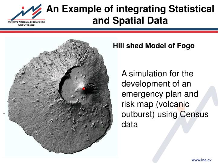 An Example of integrating Statistical and Spatial Data