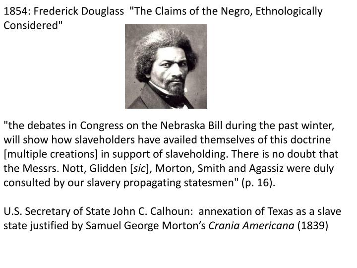 1854: Frederick